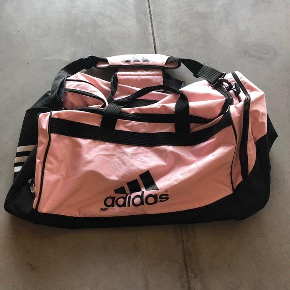 adidas Bags | Large Pink Duffle Bag